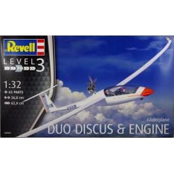 DUO DISCUS MET MOTOR 1/32 27X62CM