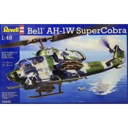 GESCHENKSET BELL AH-1W SUPERCOBRA 1/48 92X30CM