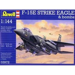 GESCHENKSET F-15E STRIKE EAGLE 1/144 13X8CM