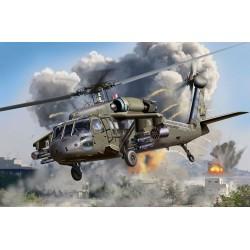 GESCHENKSET UH-60A TRANSPORT HELI 1/72 21X22CM