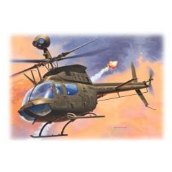 GESCHENKSET BELL OH-58D 1/72 14X15CM