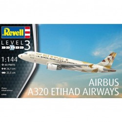 AIRBUS A320 ETIHAD AIRWAYS 1/144