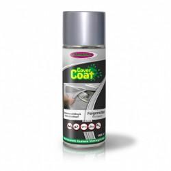Spuitbus cover coat glanz silver 400ml.