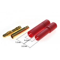goudstekerset 4mm (smalle behuizing)