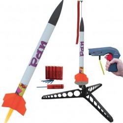 Raket starterset Pan 49,5cm + launch controller excl. 9V batt.
