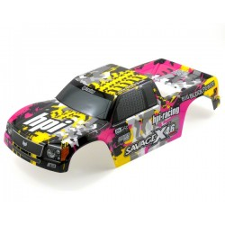 1/8 Nitro GT-3 Truck body (YELLOW/PINK/BLACK) PAINTED