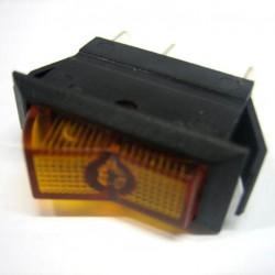 wipschakelaar12V20A oranje 11x30mm