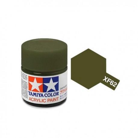 acrylverf XF-62 olive drab 23c