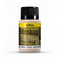 Vallejo Light Brown mud Weathering Effects 40ml