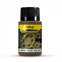 Vallejo mud and grass weathering effects 40ml.