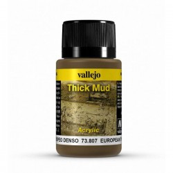 Vallejo European mud weathering effects 40ml.
