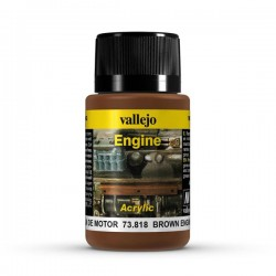 Vallejo brown engine soot weathering effects 40ml.