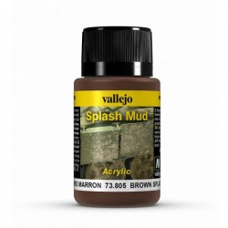 Vallejo brown splash mud weathering effects 40ml.