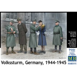 VOLKSSTURM, GERMANY 1944-1945 1/35