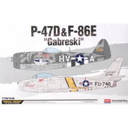 DUOSET P-47D&F-86E 1/72