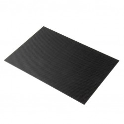 Carbon fiber plaat 150x500mm 1mm