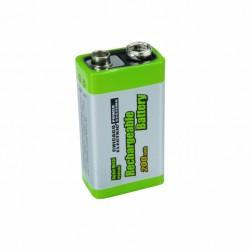 9V 200mAh NiMH blokbatterij (8.4V)