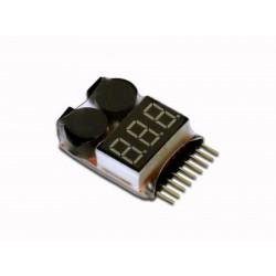 inflight sound lipo alarm/buzzer/checker 1-8cel