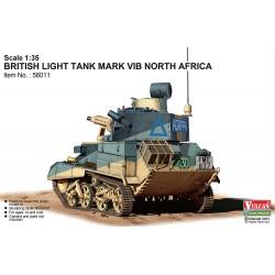 BRITISH LIGHT TANK MARK VIB NORTH AFRICA 1/35