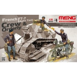 FRENCH FT-17 TANK CREW 1/35