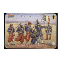 FRENCH LIGHT INFANTRY 1/72