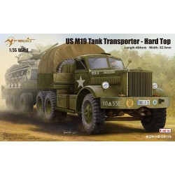 US M19 TANK TRANSPORTER HARD TOP 1/35
