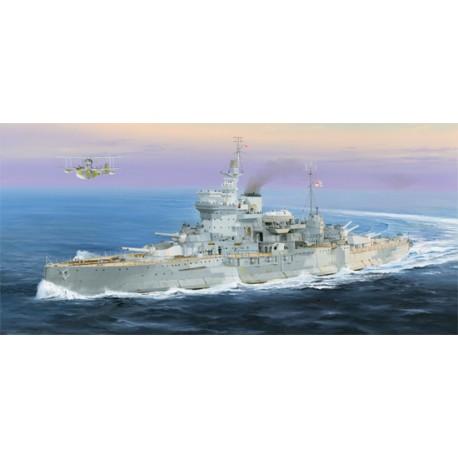 BATTLESHIP HMS WARSPITE 1/350