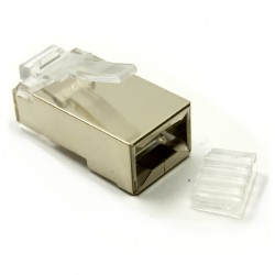 RJ45 cat6 plug shielded 10st