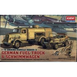 GERMAN FUEL TRUCK & SCHWIMMWAGEN 1/72