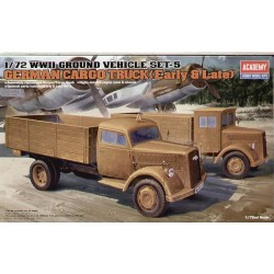 GERMAN CARGO TRUCK EARLY & LATE 1/72