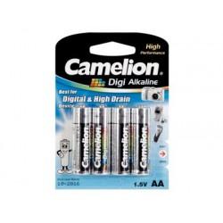 Alkaline 4st AA batterij