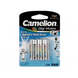 Alkaline 4st AAA batterij