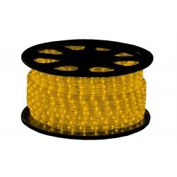 230V LED lichtslang geel per meter