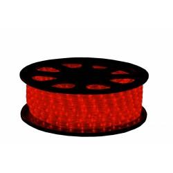 230V LED lichtslang rood per meter
