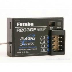Futaba R203GF-24GHZ S-FHSS/FHSS ontvanger