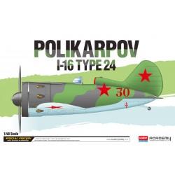 POLIKARPOV I-16 TYPE 24 1/48
