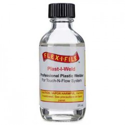 Plast-I-Weld Styrene laslijm 60ml.