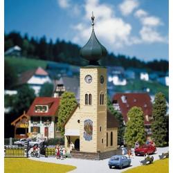HO kerk met verwisselbare piek 142x87x250mm