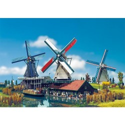 HO  hollandse molen 255x180x330mm