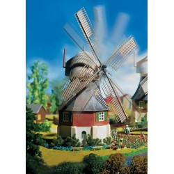 HO windmolen incl motor 16V AC 98x88x1354mm