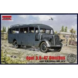 OPEL 3.6-47 OMNIBUS 1/72