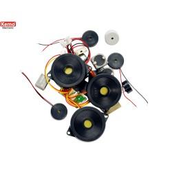 Experimenteerset microfoons/speakers ca20stuks