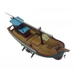 Vissersbootje Taka 38cm 1/35