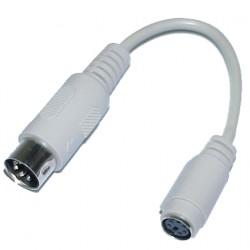 Keyb.adapter    6p-f/5p-male