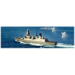 HMS TYPE 45 DESTROYER 1/350