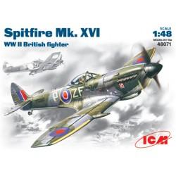 SPITFIRE MK. XVI WWII BRITISH FIGHTER 1/48