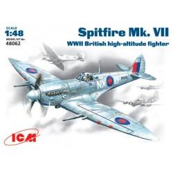 SPITFIRE MK.VII WWII BRITISH FIGHTER 1/48