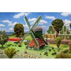 HO Nederlandse windmolen 205x165x265mm