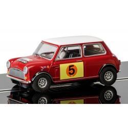 Slotrace auto Mini Cooper S 1/32