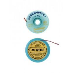 Tinzuigband aa  geel 1.5mm